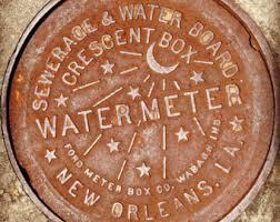 water meter new orleans water meter etsy