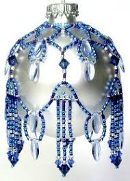 392 best beaded ornaments images on beaded