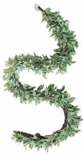 faux s ear garland wedding greenery garlands afloral