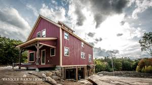 rustic modern barn home plans hahnow