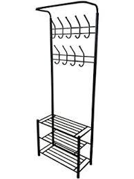 amazon com coat u0026 hat racks entryway storage bench coat rack