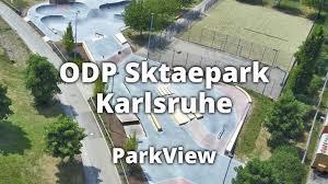 Karlsruhe Baden Skatepark Odp Karlsruhe Baden Württemberg Deutschland