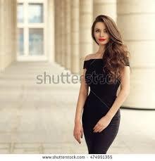 young elegant posing city street stock photo 429190990