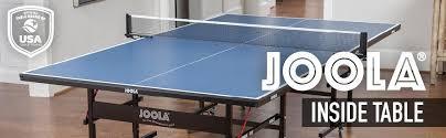 Amazon Ping Pong Table Amazon Com Joola Inside 15mm Table Tennis Table With Net Set