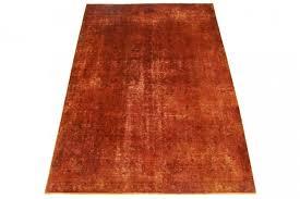 Schlafzimmer Teppich Kaufen Vintage Teppich Rot Rost In 270x190cm 1001 3419 Bei Carpetido De