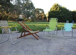 Vintage Aluminum Folding Chairs Timber Beach Chair Hastac2011 Org