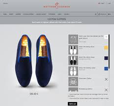 Online Custom Home Builder Matthew Cookson Customizes Shoes With An Online Product Configurator