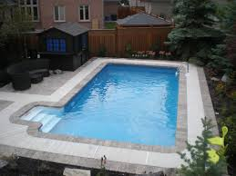 Backyard Pools Tupelo Ms by New Great Lakes In Ground Fiberglass Pool By San Juan