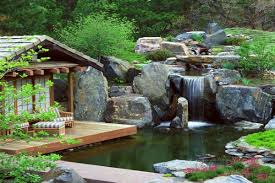pond landscaping small rock garden ideas small front yard rock