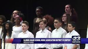 Meridian Schools Contests Local Middle Schools Perform At The Illinois Grade