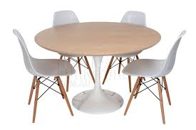 mesmerizing with eames replica chairs in tulip table oak as wells
