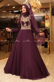 pinar sems şems sahra evening dress purple
