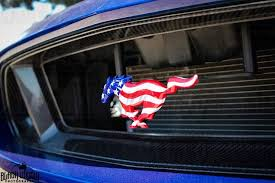mustang grill emblems flag ponies 1994 2016 autobadges