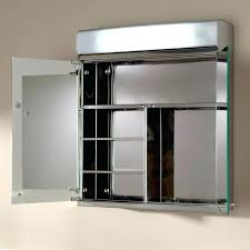 recessed medicine cabinet with lights lighted medicine cabinet recessed musicalpassion club