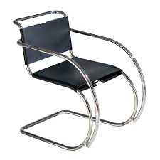 Mies Van Der Rohe Bench Mr Chair With Arms Knoll