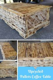 upcycled pallets coffee table jpg