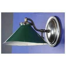 Tin Sconce Reproduction Gas Arm Wall Light With Old Tin Shade From Pw