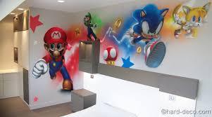 chambre mario chambres de garçons décoration graffiti page 2 sur 12 deco