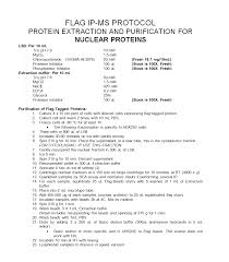 Resume Extraction Proteolims Protocols
