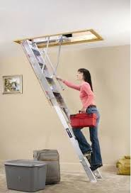 attic step ladder retractable loft ladders google search easy step