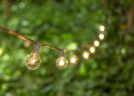globe string lights brown wire 1 5 inch e12 bulbs 25 foot brown wire c7 strand clear white globe