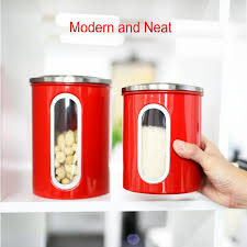 stainless steel kitchen canisters ellajanegoeppinger com