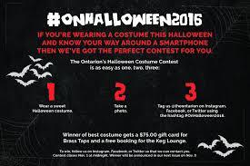 the ontarion u0027s halloween costume contest u2013 the ontarion