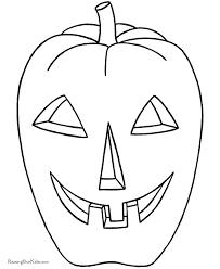 preschool halloween coloring pages pumpkin 003