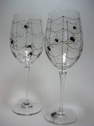 decoration spooky wine glasses for halloween high quality glass