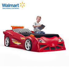 Twin Bed For Boys Wheels Toddler To Twin Race Car Bed Red Kids Bed Step2