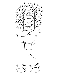 wanoag chief coloring pages hellokids