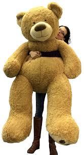 big teddy 5 foot big smiling teddy soft with bigfoot