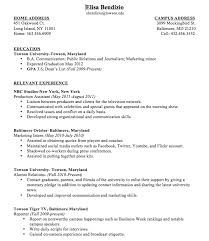 First Job Resume Example by How To Write Your First Resume 20 Resume Examples After First Job