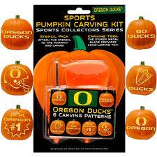 pumpkin carving kits oregon ducks pumpkin carving kit fanatics