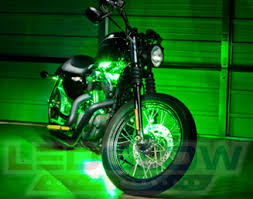 Led Lights For Motorcycle Motorcycleledlights By Ledglow Lighting