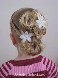 flowergirl hair flower girl hairstyle in hairland