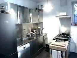 meuble cuisine inox brossé meuble de cuisine inox meuble cuisine tout inox avec plonge ensemble