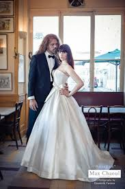 robe de mari e max chaoul max chaoul couture robe wed