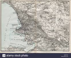 Trieste Italy Map by Trieste Italy City Map Stock Photos U0026 Trieste Italy City Map Stock