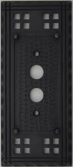craftsman style light switches arts crafts mission style oil rubbed bronze two gang switch plate