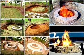 Fire Pits For Backyard by Creatively Luxurious Diy Fire Pit Project Here To Enhance Your