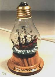 ship in a personalised handmade paper ship in a bottle bottle ships and craft