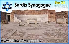 first century synagogue top plans sardis asia 49 bc