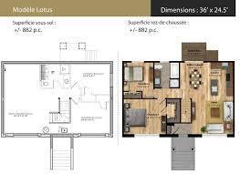 superficie chambre construction sylvain briand bungalows neufs