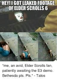 Elder Scrolls Memes - 25 best memes about elder scrolls 6 elder scrolls 6 memes