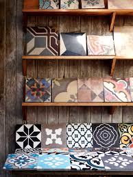 Toby Interiors Cement Tiles The Studio Of Jatana Interiors Photo By Toby Scott