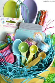 baking gift basket easter basket ideas with world market a owl