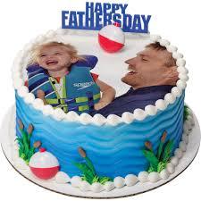 decopac photocake father u0027s day round cake
