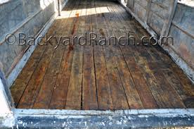 trailer repair floor replacement part 2