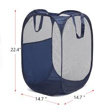 Stainless Steel Laundry Hamper by Pop Up Laundry Hamper Magicfly Foldable Mesh Hamper Clothes